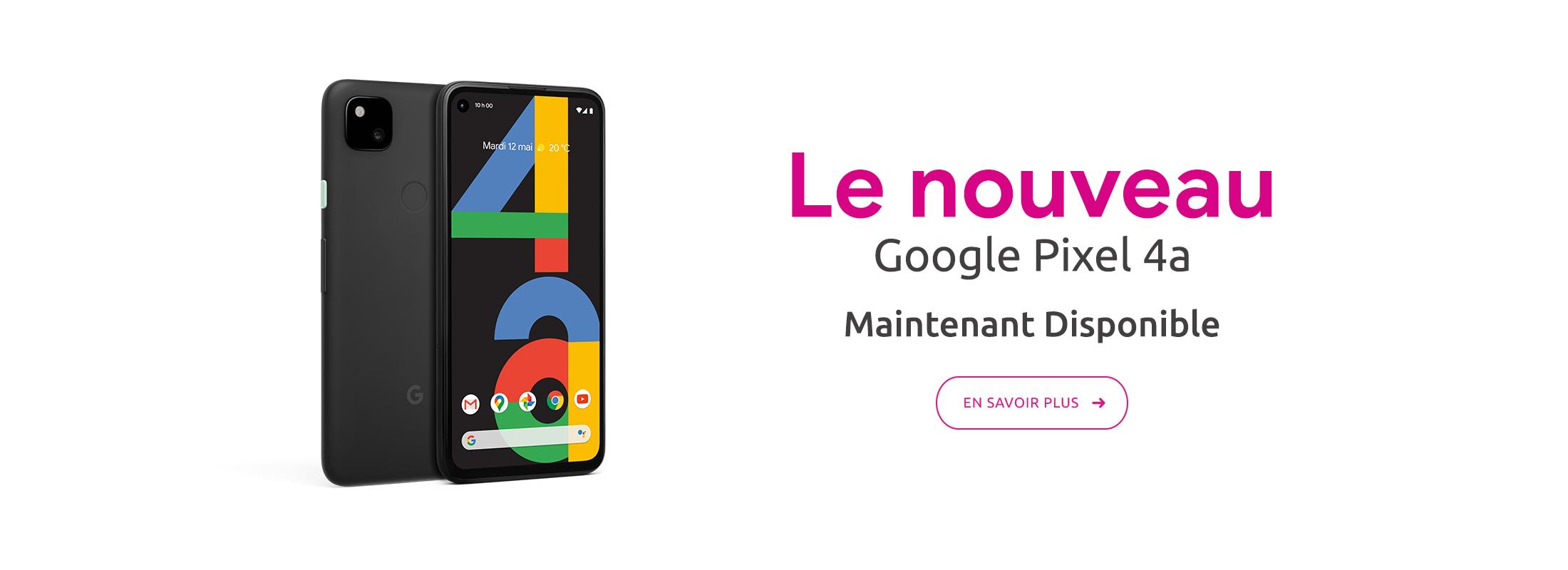 En savoir plus sur Google Pixel 4a