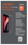 Ventev iPhone SE (2020) Toughglass+ Screen Protector