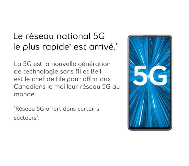 Le reseau national 5G le plus rapide est arrive