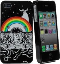 Muvit iPhone 4/4s Rainbow Doodle Case