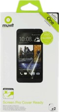 Muvit HTC One Cover Ready Screen Protector (2PK)