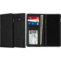 Uunique London Galaxy S10+ Genuine Leather 2-in-1 Detachable Folio Case