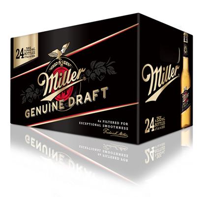 Molson Breweries 24C Miller Genuine Draft 8520ml