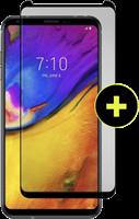 Gadgetguard LG V35 ThinQ Black Ice+ Cornice Screen Protector