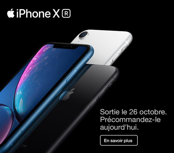 iPhone XR Précommandez