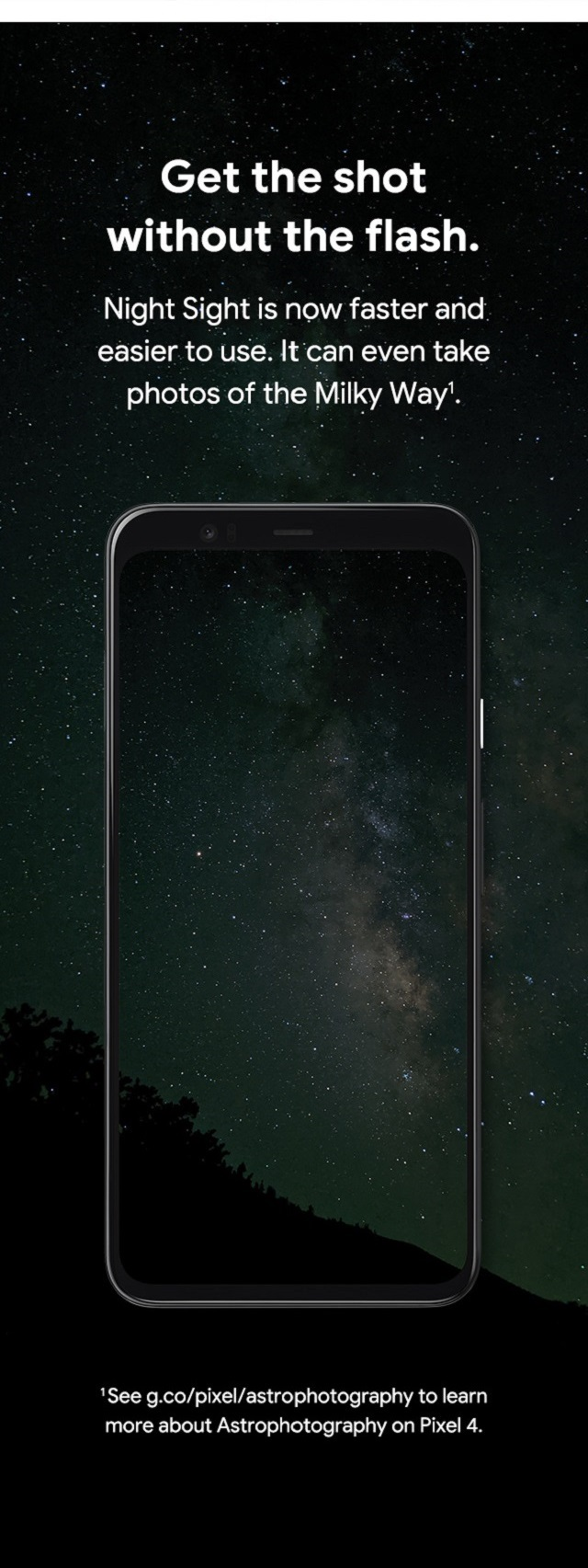 Google Night Sight – Get the shot without the flash.