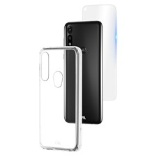 Case-Mate Moto E Protection Pack Tough Case And Glass Screen Protector
