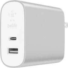 Belkin 27W/12W Type C and Universal Power Delivery Home Charger