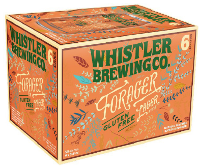 Set The Bar Whistler Forager Gluten Free Lager 2130ml