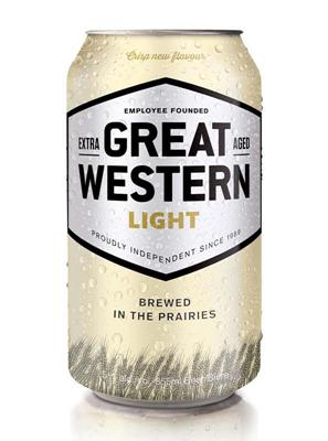 Great Western Brewing Company 24C Great Western Light 8520ml
