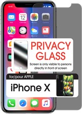 Cellet iPhone X Premium Tempered Privacy Glass Screen Protector