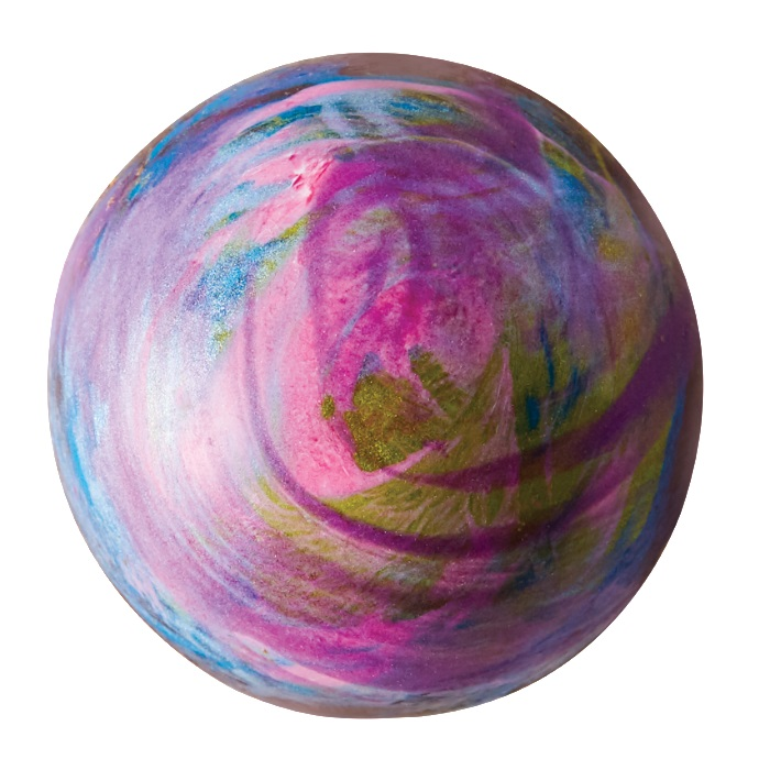 Chocolate Caramel Half Spheres - Aurora Drift  - Edibles