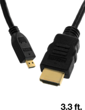 Offwire Certified Micro HDMI Cable