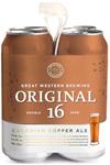 Great Western Brewing Company 4C Original 16 Cdn Copper Ale