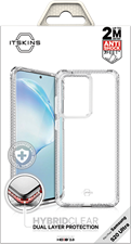 ITSKINS Galaxy S20 Ultra Hybrid Clear Case