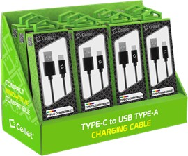 Cellet 12-Pack USB-A to USB-C Cables