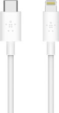 Belkin - Boost Up Charge Apple Lightning To Usb Type C Cable 4ft