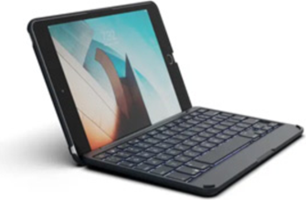 Zagg iPad Mini 4th/5th Generation Non-Backlit Bluetooth Keyboard Case and Folio Case