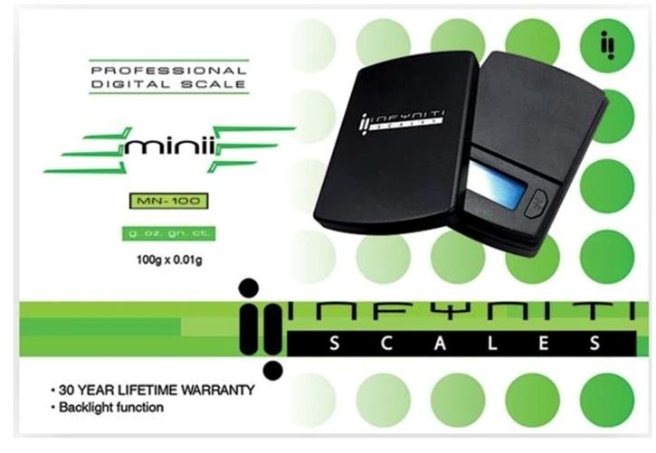 Infyniti, Mini 100g Scale