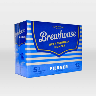 Great Western Brewing Company 12C Brewhouse Pilsener 4260ml
