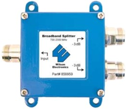 weBoost Wilson Splitter for 700-2300 MHz w/F Female connector