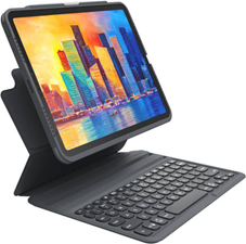 Zagg Pro Keys Bluetooth Keyboard Case For Apple Ipad Air 10.9