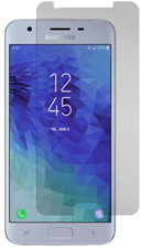 Gadgetguard Black Ice Glass Screen Protector for Samsung Galaxy J3 2018  /  J3v 3rd Gen  /  J3 Star  /  Express Prime 3  /  Amp Prime 3