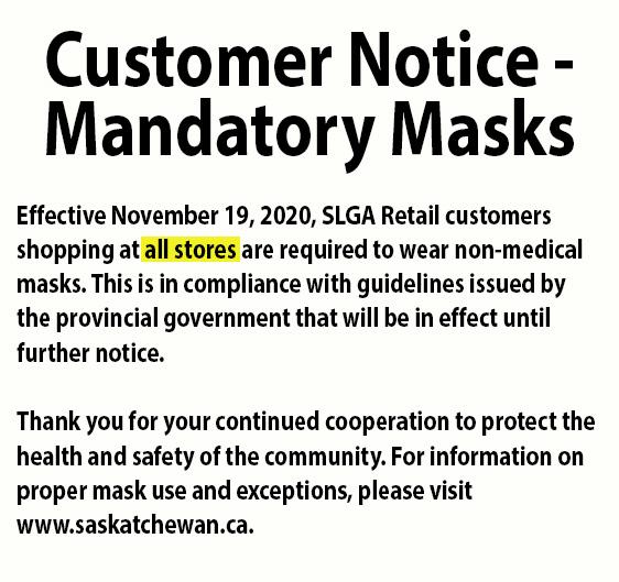 COVID - Mandatory Masks