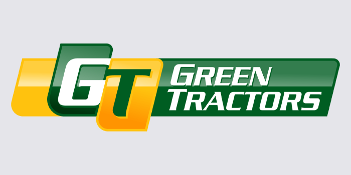 green tractor logo