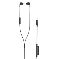 Scosche IDR301 In-Ear Wired Headphones for Apple Lightning Devices