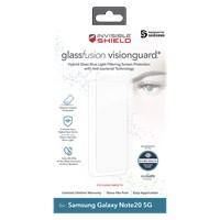 Zagg Galaxy Note20 5G Invisibleshield Glassfusion Visionguard Plus Screen Protector