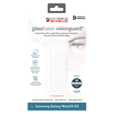 Zagg Galaxy Note20 5G Invisibleshield Glassfusion Visionguard Plus Screen Protector