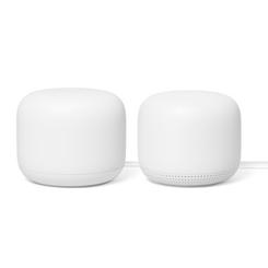 Google Nest White WiFi Router + 1 Nest WiFi Point (2 PK)