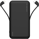Blu Element Portable Power 10000 mAh w/ Built in Lightning / Micro USB and USB-C Cables