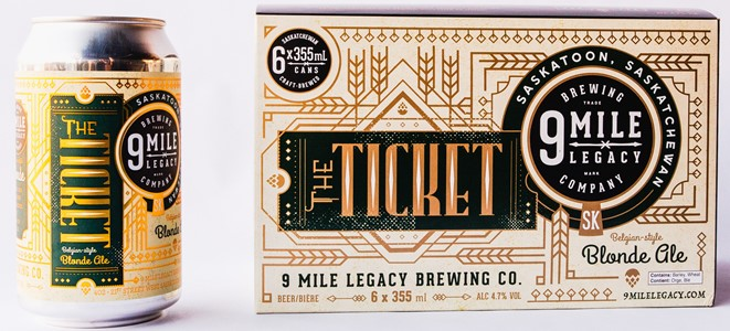 9 Mile Legacy Brewing Company 6C 9 Mile Legacy Brewing The Ticket 2130ml