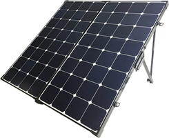 Renogy 200W Eclipse Monocrystalline Solar Suitcase without controller
