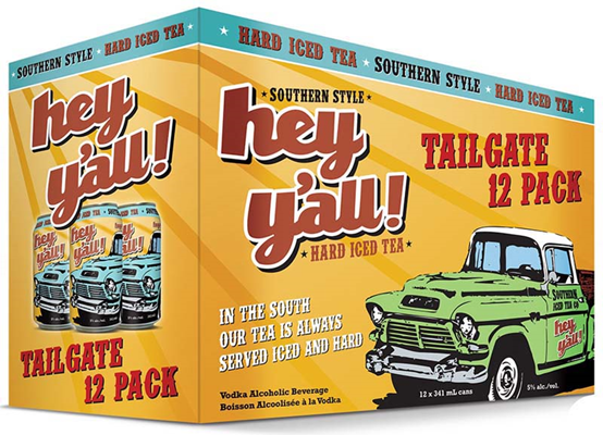 Set The Bar Hey Y'All Iced Tea Tailgate Pack 4092ml