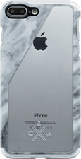 Candywirez iPhone 8/7 Plus Marble Clear Case