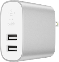 Belkin 12W Boost Up Dual Port Universal Wall Charger