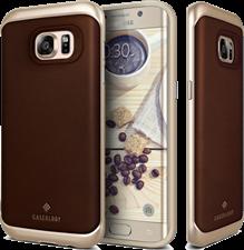 Caseology Galaxy S7 edge Envoy Series Genuine Leather Bound Case
