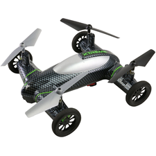 Jem Accessories Xtreme Fly and Drive Carbon Fiber Quadcopter HD Recording