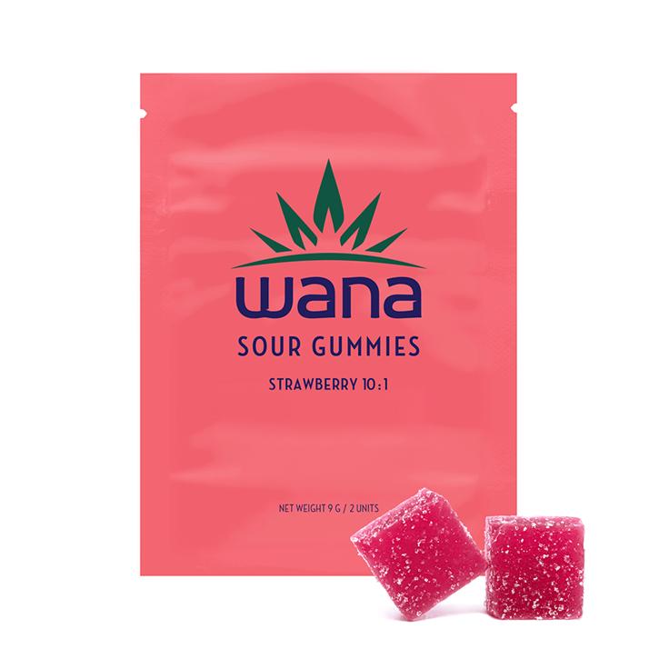 Strawberry 10:1 - Wana - Gummies