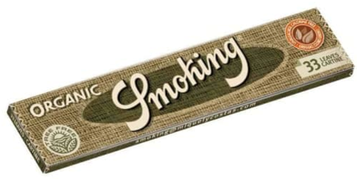 Smoking, Organic King Size Rolling Papers