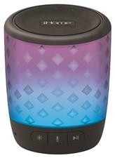 iHome iBT81BC Bluetooth Color Speaker w/Siri and Google Assist