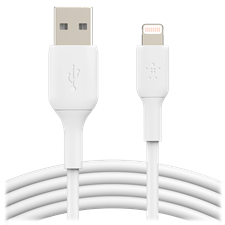 Belkin Boost Up Charge Usb A To Apple Lightning Cable 10ft