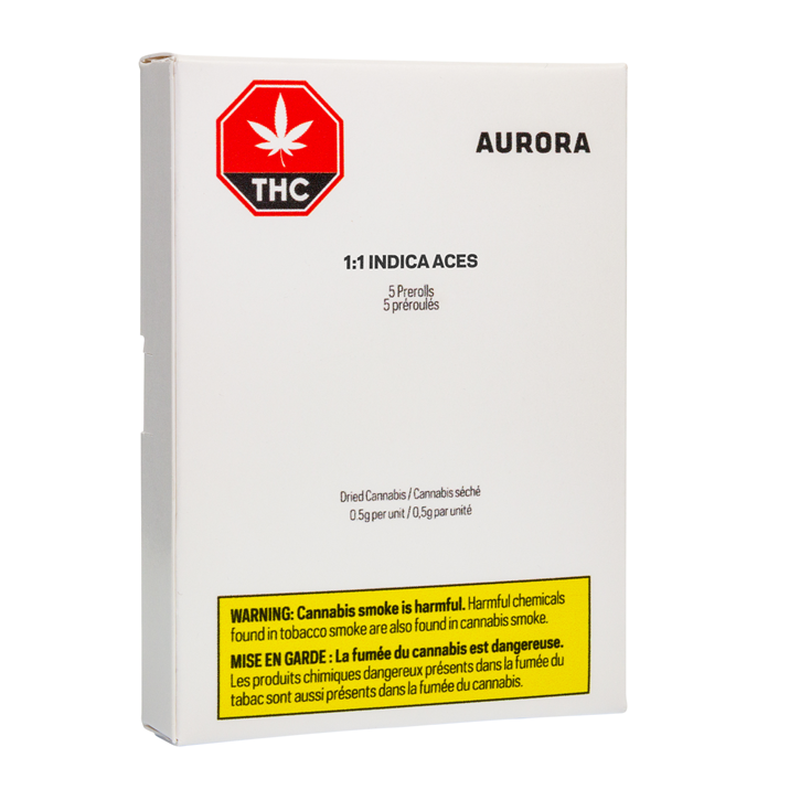 Aces 1:1 Indica - Aurora - Pre-Roll