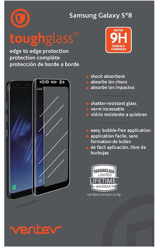 Galaxy S8 Toughglass Edge to Edge Screen Protector