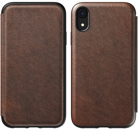 iPhone XR Rugged Leather Case