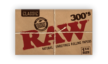 RAW Classic Creaseless 1.25 Rolling Papers