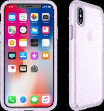 Speck iPhone X Presidio Clear  Glitter Case